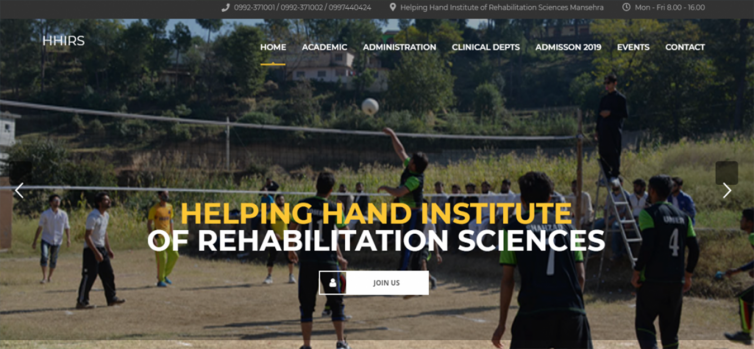 HHIRS ( Helping Hand Institute of Rehabilitation Sciences )