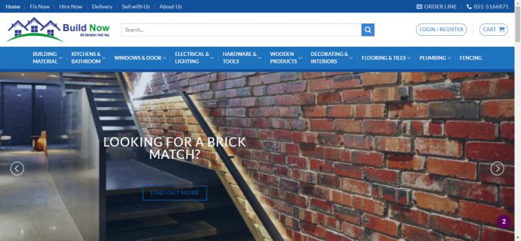 Build Now Website