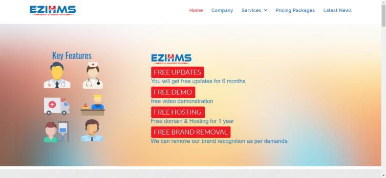 EZIHMS – Hospital Management System