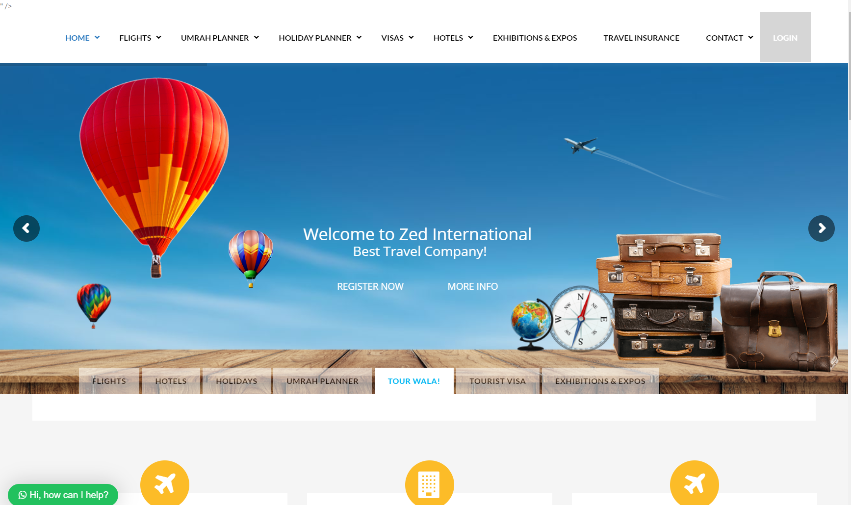 Travel Agency Website >> Travel Agency Website Eziline Software House Best Software House