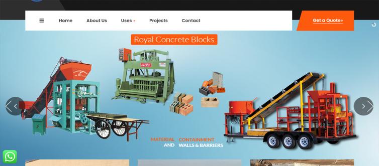 Royal Concrete Blocks