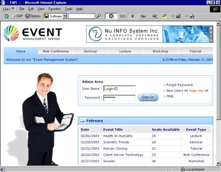 online event management system Engage 2 is a highly configurable online event management and booking system  with sophisticated management features, comprehensive reports, a versatile.