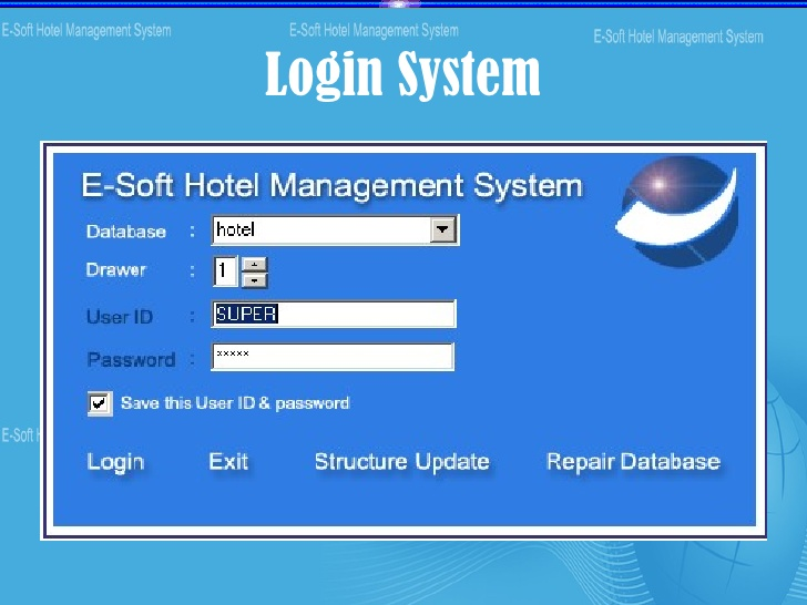 hotel management software demo