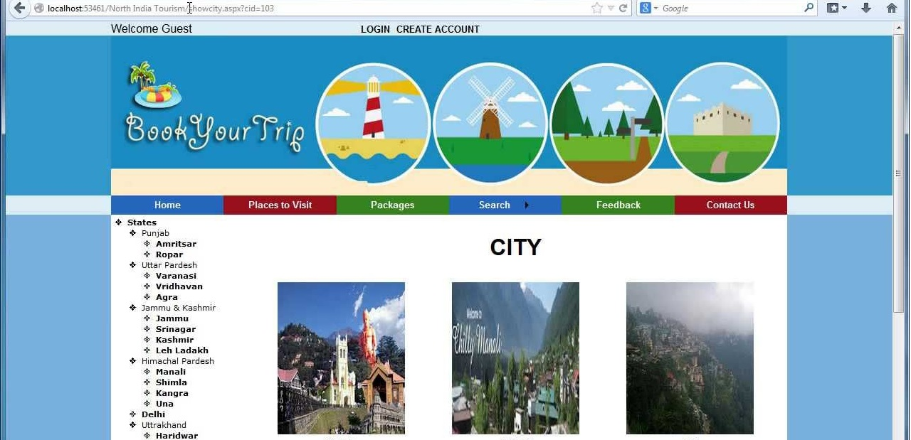 Travel and Tourism Management System